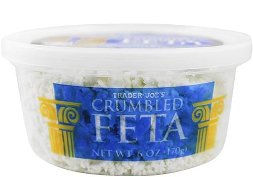 Crumbled Feta ($3)
