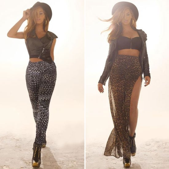 Beyonce Knowles For House of Dereon Autumn Campaign