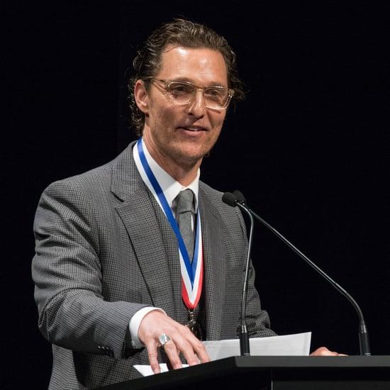 Matthew McConaughey Is Film Professor at University of Texas