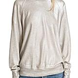 The Great Women's The College Metallic Foil Sweatshirt