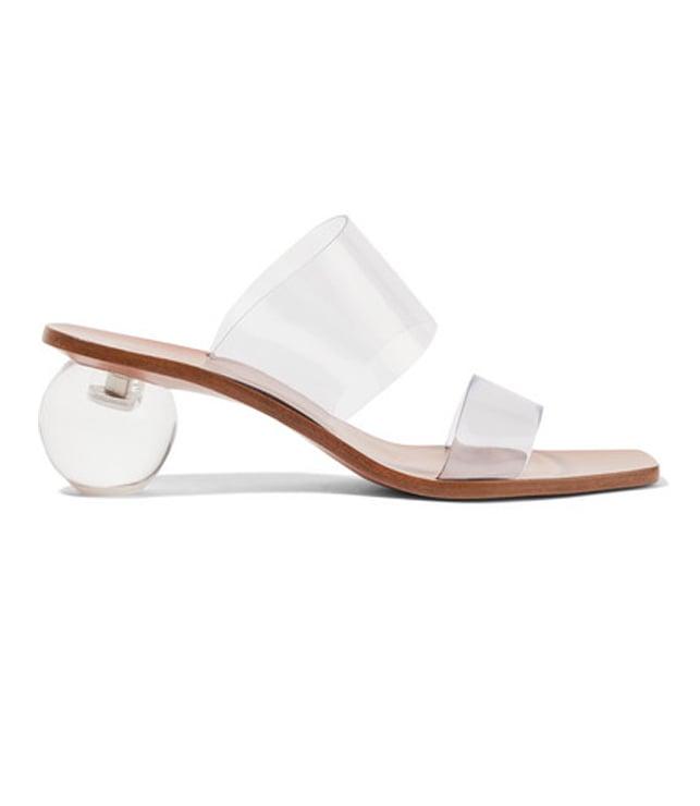Jila Vinyl Sandals in Clear