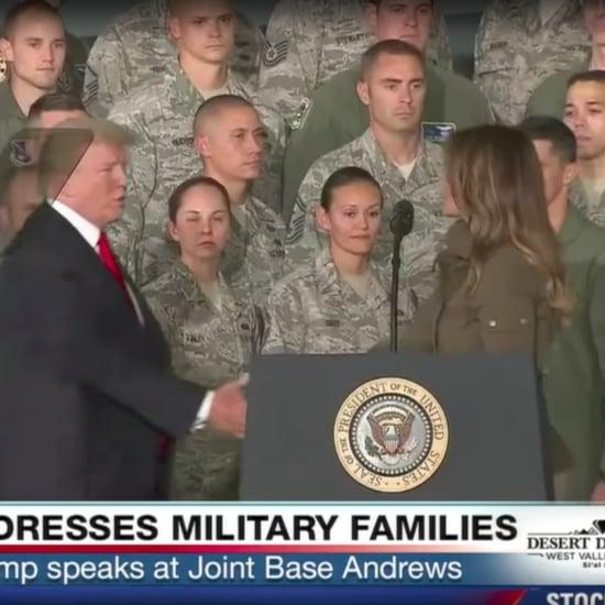 Jimmy Kimmel Segment on Donald and Melania Trump Handshake