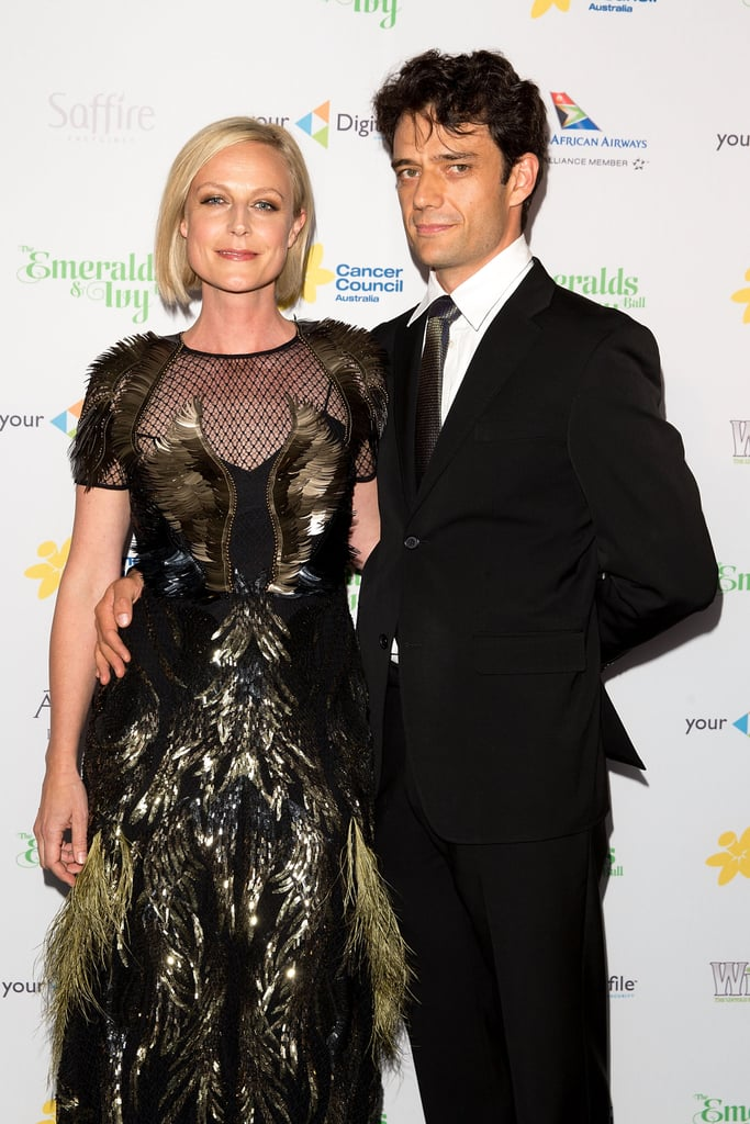 Marta Dusseldorp and Benjamin Winspear