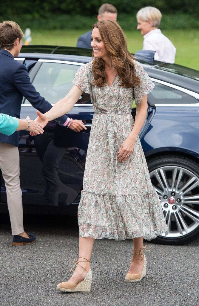 Kate Middleton at Action for Children Workshop June 2019