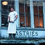 Josh Hutcherson as Peeta Mellark in The Hunger Games.
