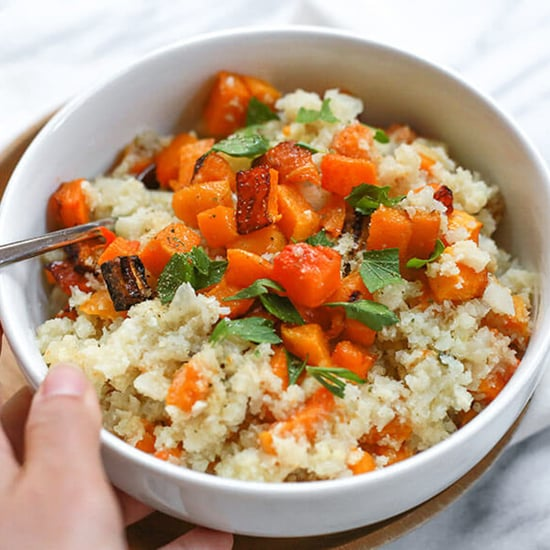 Grain-Free Butternut Squash Cauliflower Risotto Recipe