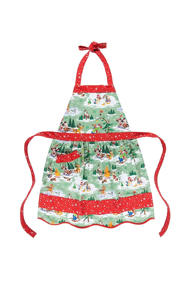 Disney Parks Mickey Mouse and Pals Christmas Holiday Chef Apron