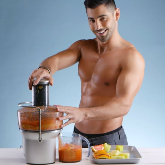 Hot Guys Juicing