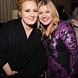 With Kelly Clarkson.