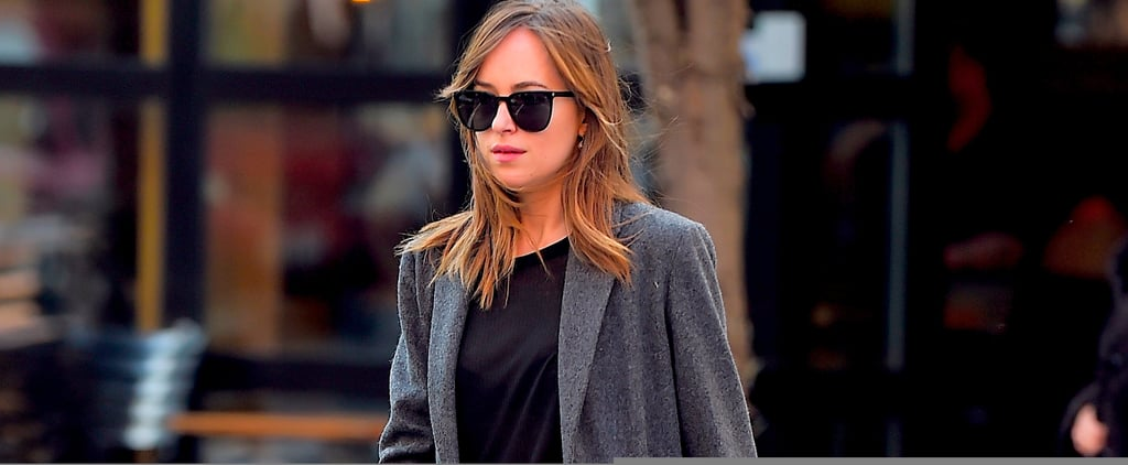 You're About to Fall Madly in Love With Dakota Johnson's Coats
