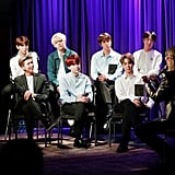 BTS at the Grammy Museum Photos 2018