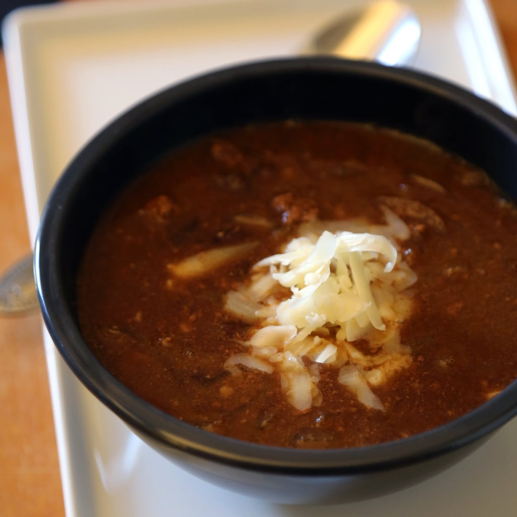 Slow-Cooker Beef Taco Soup