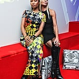 Nicki Minaj and Donatella Versace