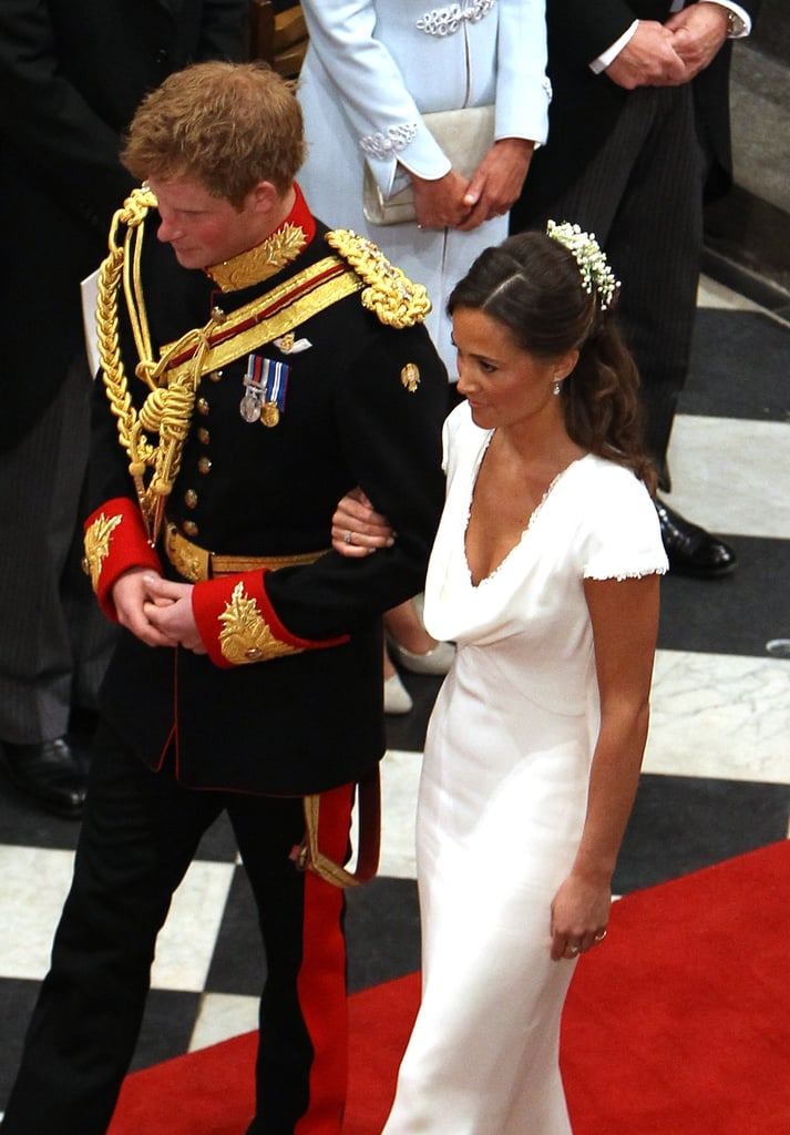 Having Prince Harry on Your Arm Is a Good Start . . .
