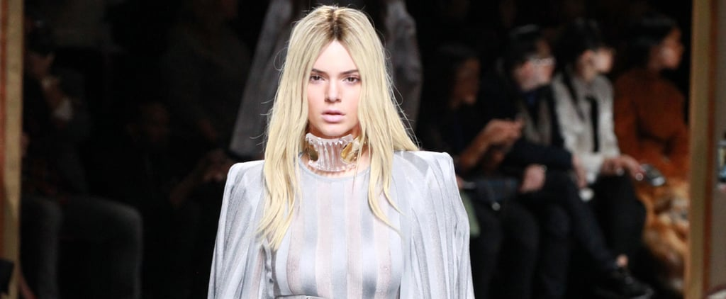 See Kendall and Gigi Walk the Balmain Runway — If You Can Tell Them Apart