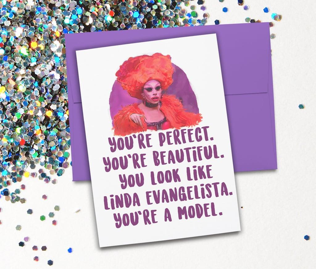 Greeting card gifts for rupauls drag race fans popsugar greeting card kristyandbryce Choice Image