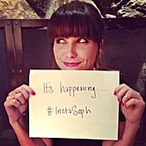 Sophia Bush gave herself a personal Instagram hashtag. Source: Twitter user SophiaBush