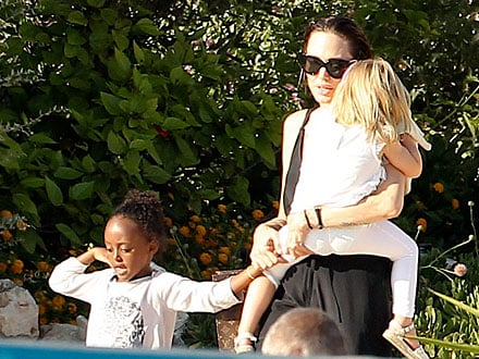 Angelina Jolie: My Kids Learn About Each Other's Cultures