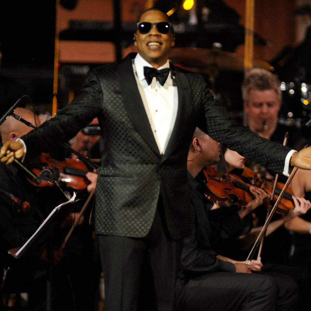 Jay-Z Carnegie Hall Concert Pictures After Welcoming Blue