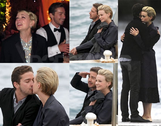 Pictures of Shia LaBeouf And Carey Mulligan Kissing in Cannes