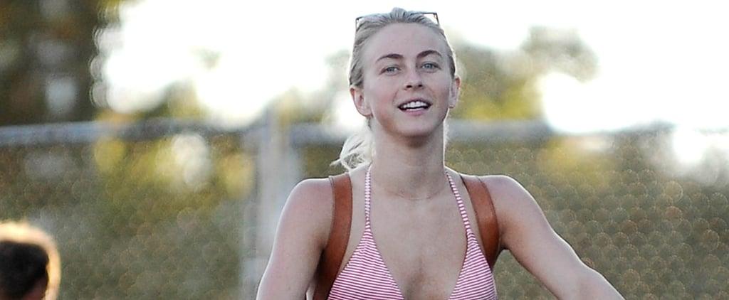 Julianne Hough Cruises Through LA in a Bikini With Her Fiancé, Brooks Laich