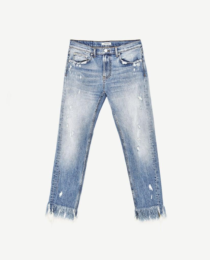 Midrise Boyfriend Jeans