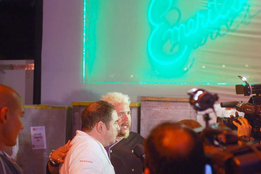 Emeril Lagasse and Guy Fieri