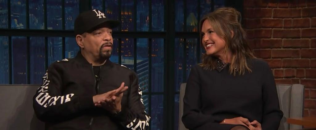 Mariska Hargitay and Ice T on Their Friendship on Late Night