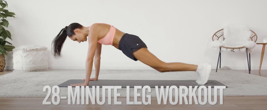 4-Week No-Equipment Workout Plan Weeks 2 & 4: Legs