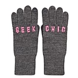Express your geek-chic style this Winter with knit gloves ($78).