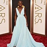Lupita Nyong'o in Prada at the Oscars