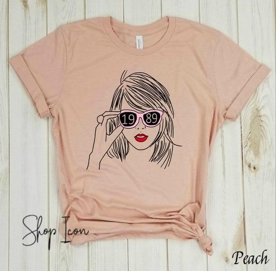 92808295 Taylor Swift T-Shirt | Taylor Swift Stocking Stuffers | POPSUGAR ...