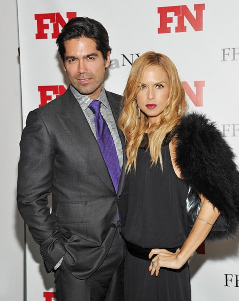 Brian Atwood Rachel Zoe posed at the 25th Annual Footwear News Achievement Awards at the MOMA.