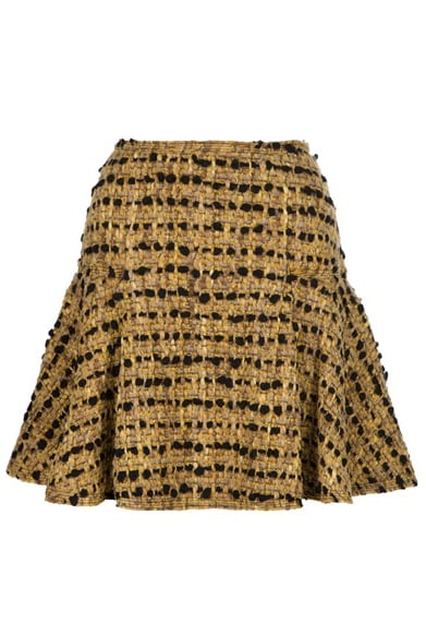 This black and gold Lanvin confection is our ultimate dream skirt.  Lanvin Tweed Flared Skirt ($2,029)
