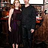 Amy Adams and her fiancé, Darren Le Gallo, attended the event together.