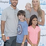Mark-Paul and Catriona brought their kids to Mattel's 5th Annual Party on the Pier in LA in October 2014.