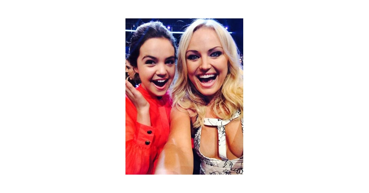 Malin Akerman Snapped A Selfie With Bailee Madison During