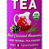The Republic of Tea Black Currant Rosemary Iced Tea