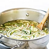 Chicken Zucchini Noodle Soup