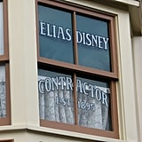 Look for special shout-outs on the Main Street USA windows.