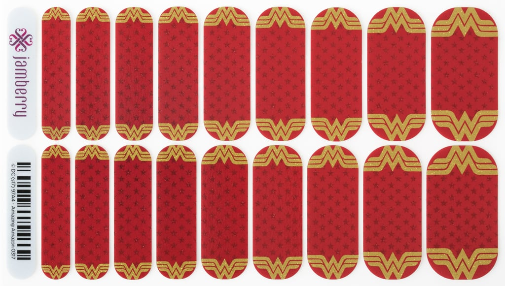 Amazing Amazon Jamberry Nail Wraps | Jamberry Wonder Woman Nail ...