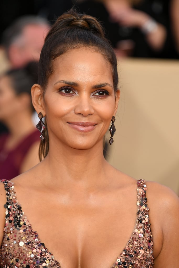 Halle berry shaved her head