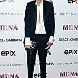 Do like Lyons and include a classic men's suiting look in your closet. She looks pretty fabulous, right?