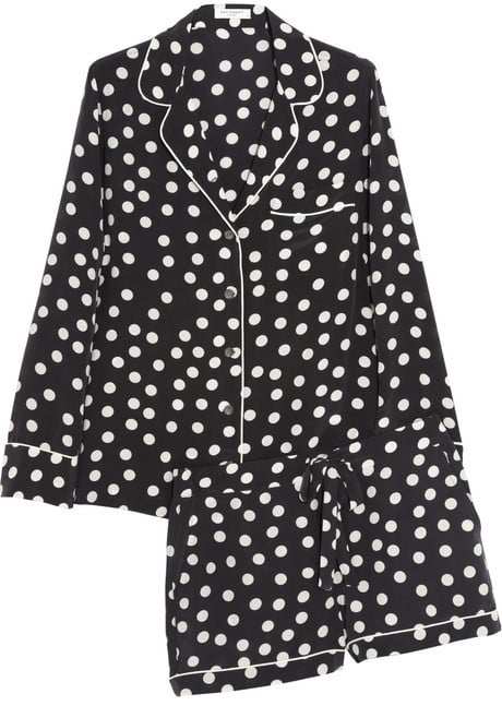 I'm a sucker for good loungewear, so as soon as I laid eyes on Equipment's silk pajama set ($390), I was instantly in love. The polka-dot print is fun — without being too young — and the shorts even have pockets! I'm looking forward to wearing these while curled up with a good book in front of the fireplace.  — Britt Stephens, assistant entertainment editor