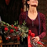 Katie Holmes performed in the opening night of Dead Accounts in NYC.