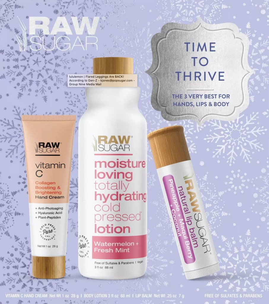 Raw Sugar Time to Thrive Gift Set
