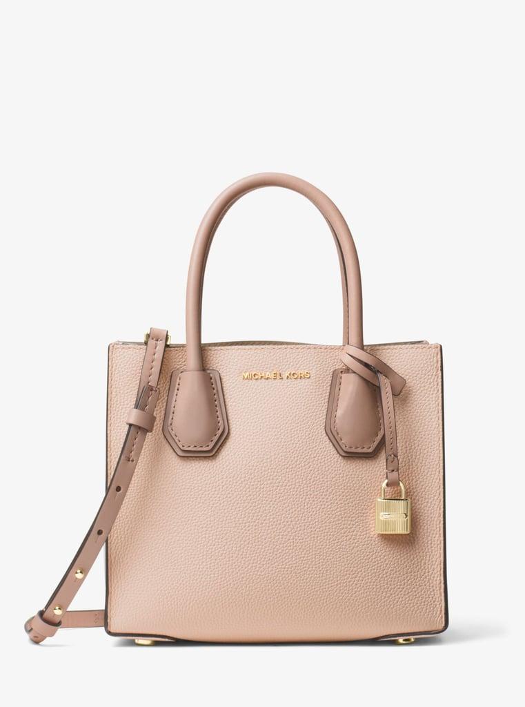 5a6a2da8c5d476 Michael Kors Mercer Color-Block Leather Crossbody | Affordable Bags ...