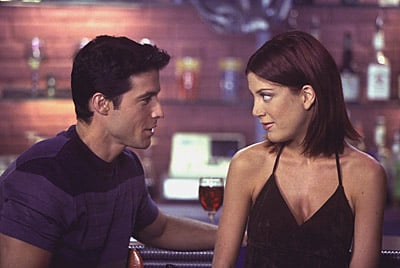 Donna dyed her hair dark later in the series.