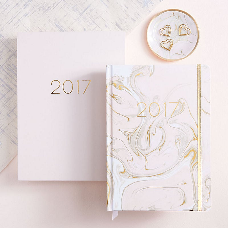 2017 Luxe Page-A-Day 12-Month Planner ($50)