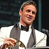 Ryan accepted the Male Athlete of the Year Award at the 2011 Golden Goggles.